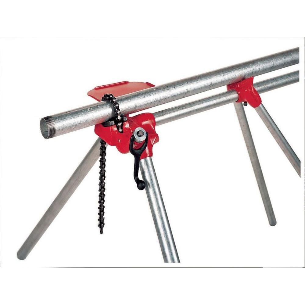 RIDGID 1/8 in. to 5 in. Model 560 Top Screw Stand Chain Vise