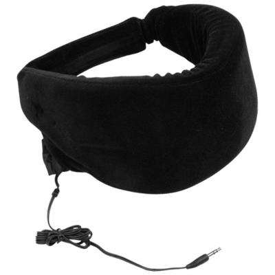 Heat Sensitive Memory Foam Sleep Mask with Stereo Input