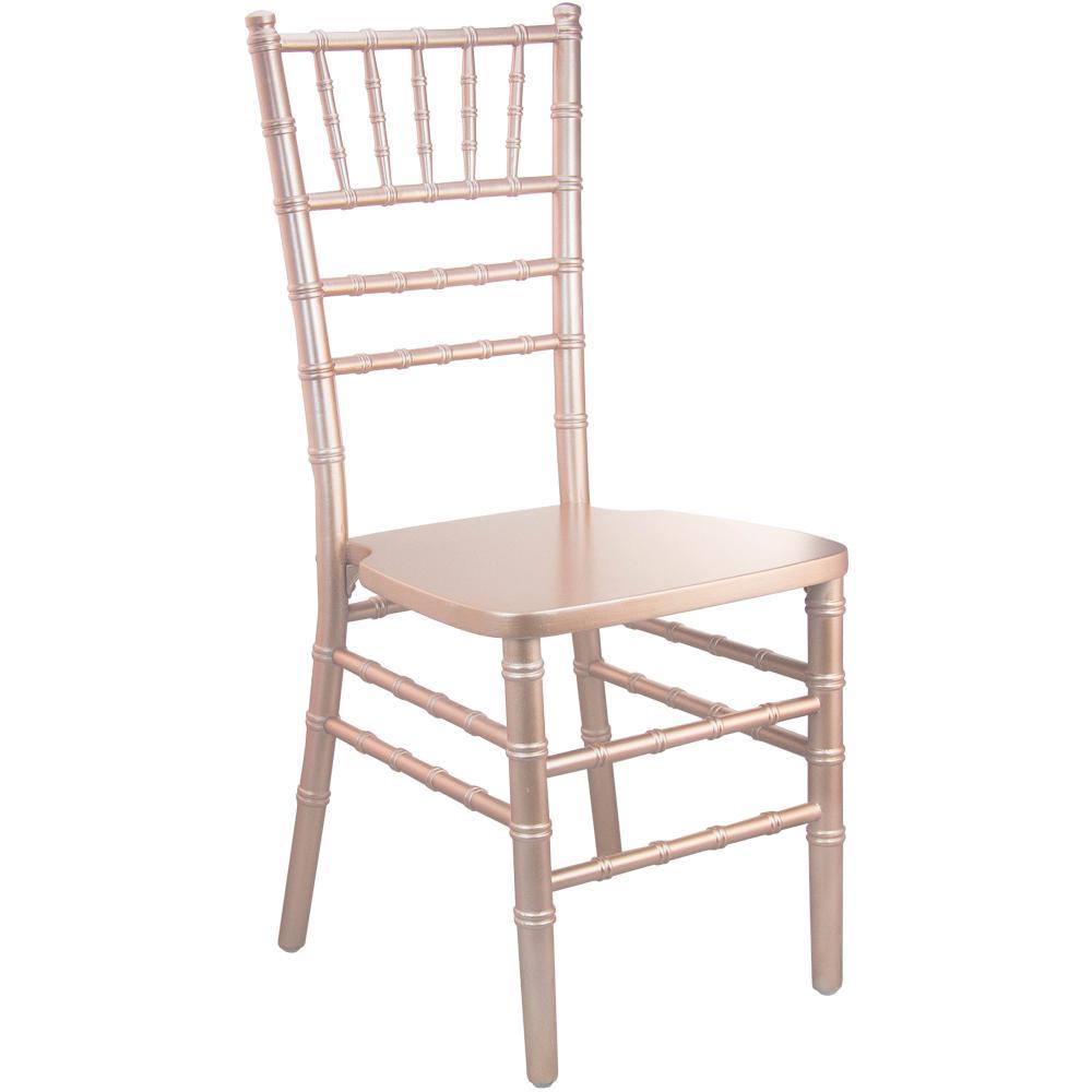 Rose Gold Wood Chiavari Chair
