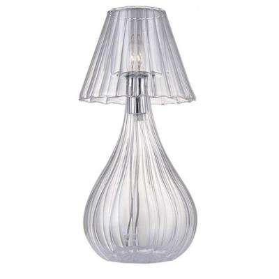 Xavier 18.2 in. Clear Table Lamp