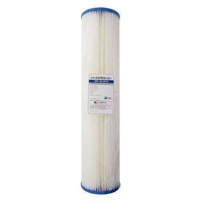 SPC-45-2010 4.5 in. x 20 in. 10 Micron Polyester Pleated Filter