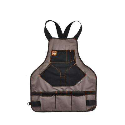 Arsenal 22-Pocket Apron, Gray