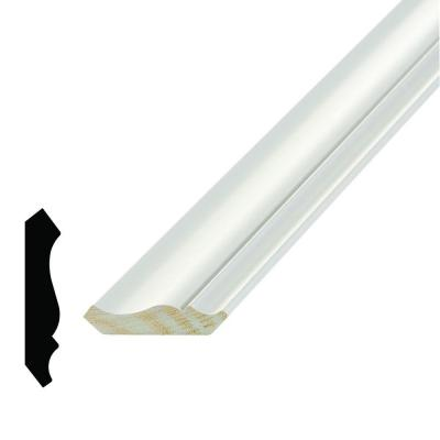 WM 52 9/16 in. x 2-3/4 in. x 96 in. Wood Primed Finger-Jointed Crown Moulding