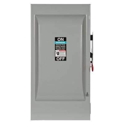 200 Amp 240-Volt 3-Pole Non-Fusible General Duty Safety Switch