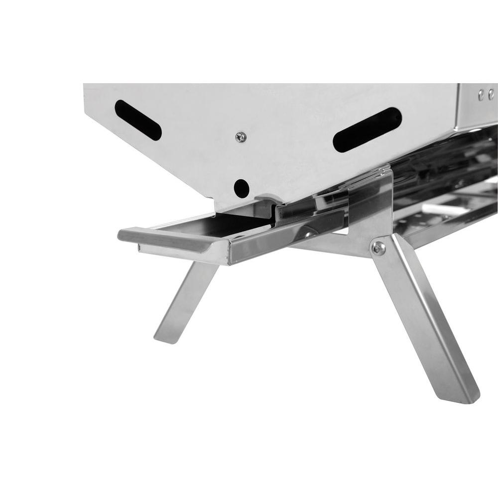 Camco Olympian Rv 5500 Stainless Steel Rv Gas Grill 57305 The Home Depot