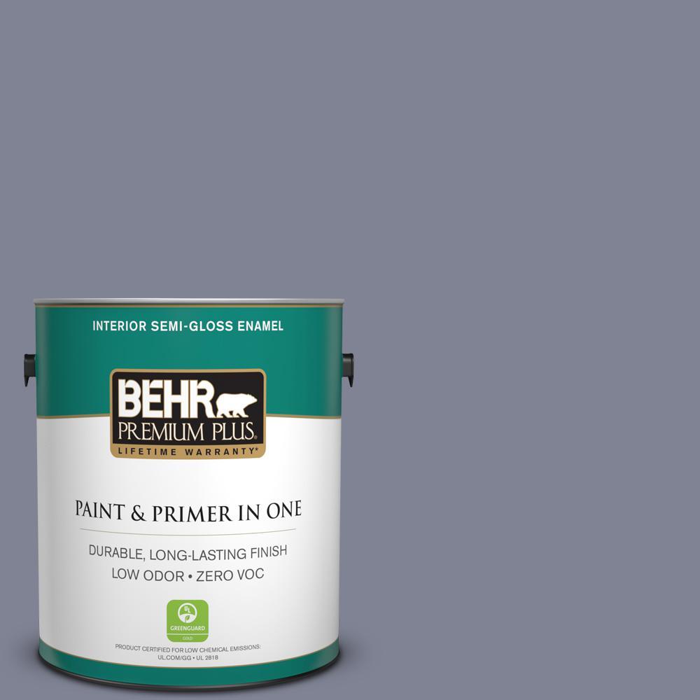 1 gal. #PPU16-16 Metro Zero VOC Semi-Gloss Enamel Interior Paint