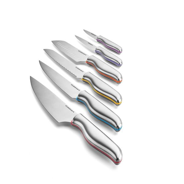 Cuisinart Classic Color Band 10-Piece Knife Set C77-10PCSHDP