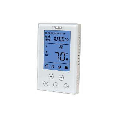 Thermostat 7-Day Programmable, Double Pole 120/208/240-Volt 15 Amp