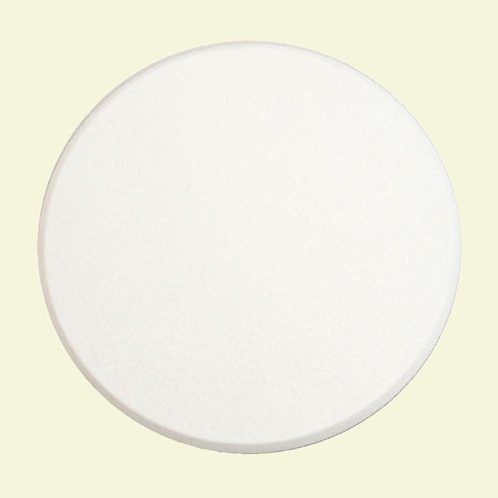 5 in. White Adhesive-Backed Textured Wall Protector