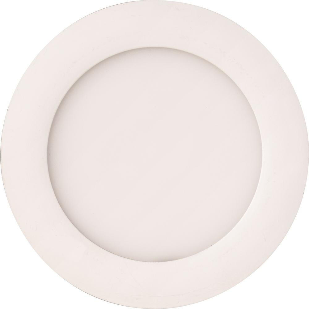Lithonia Lighting WF4 LED 40K MW M6 10W Ultra Thin 4 Dimmable LED Recessed Ceiling Light 4000K White