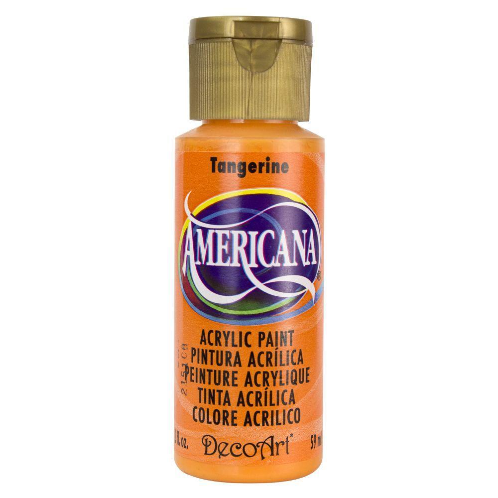 Americana 2 oz. Tangerine Acrylic Paint