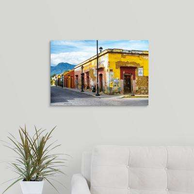 """Oaxaca City Street"" by  Philippe Hugonnard Canvas Wall Art"