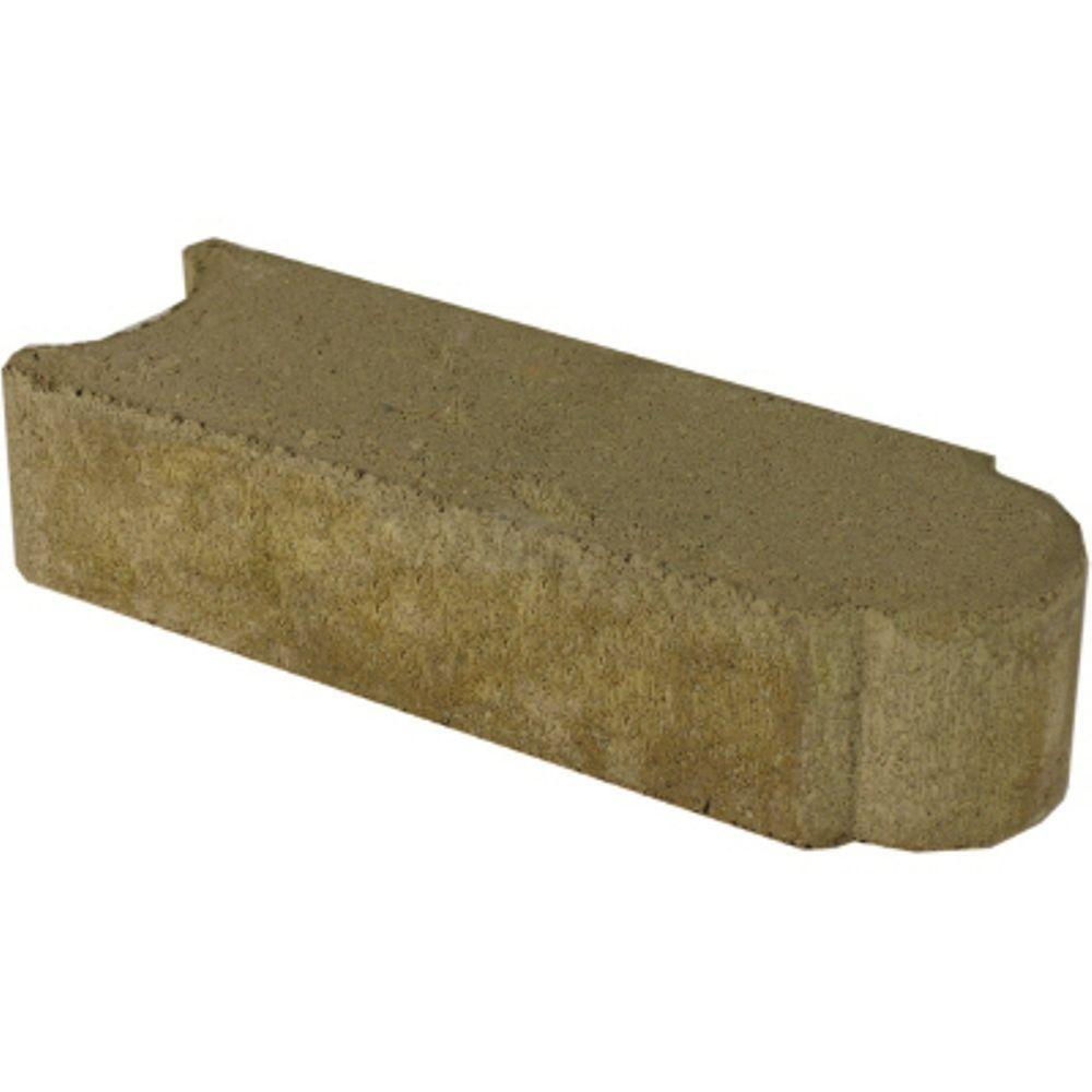 Edgestone 11.75 in. x 4 in. x 3 in. Tan Concrete