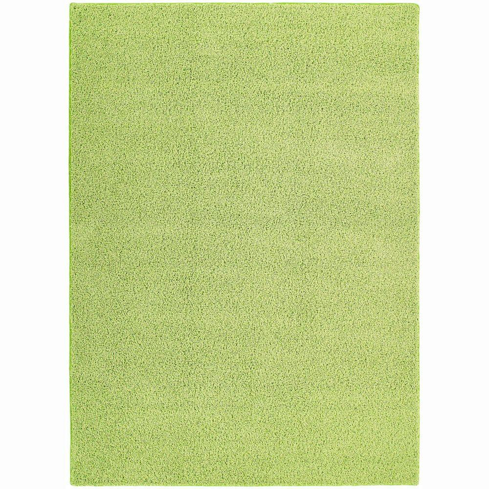 Garland Rug Shazaam Mod Green 4 ft. x 6 ft. Area Rug