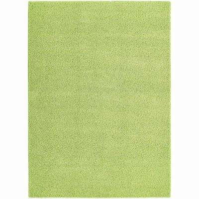Shazaam Mod Green 5 ft. x 8 ft. Area Rug