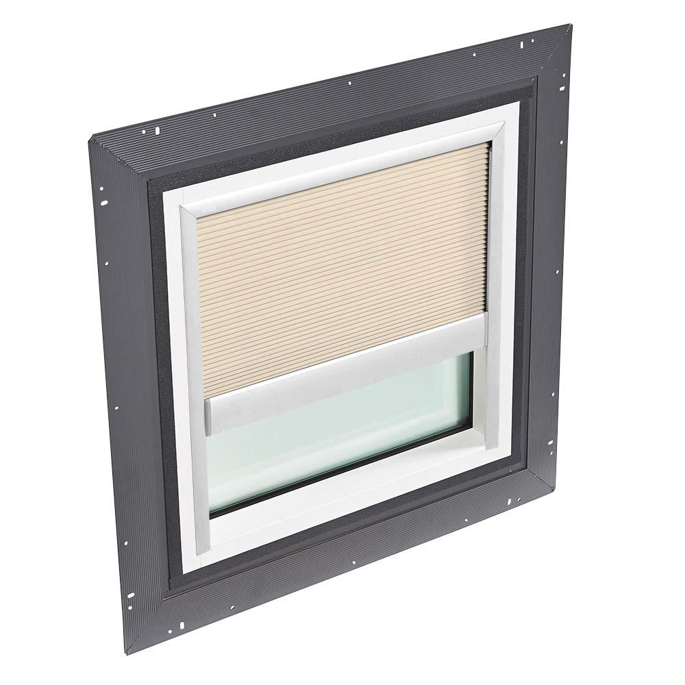 Velux 22 1 2 In X 22 1 2 In Fixed Self Flashed Skylight