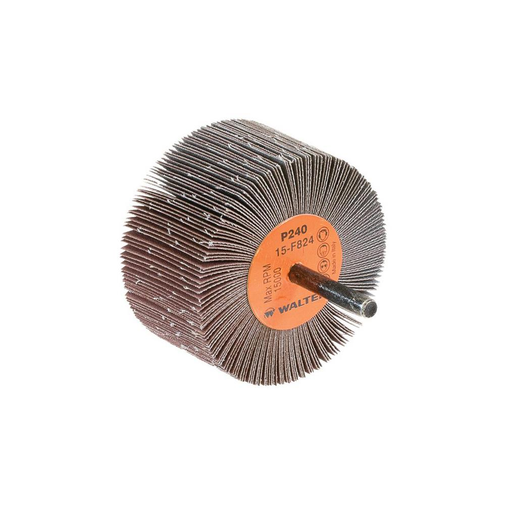 COOLCUT 3 in. x 1-1/8 in. GR:240 Sanding Flap Wheels