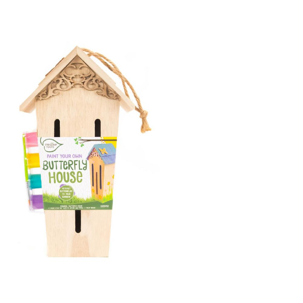 Creative Roots Paint Your Own Butterfly House 64918a The