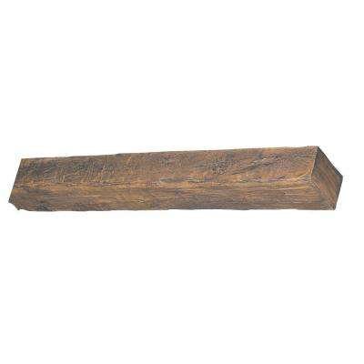 7-5/8 in. x 4-1/2 in. x 11 ft. 6 in. Faux Wood Beam
