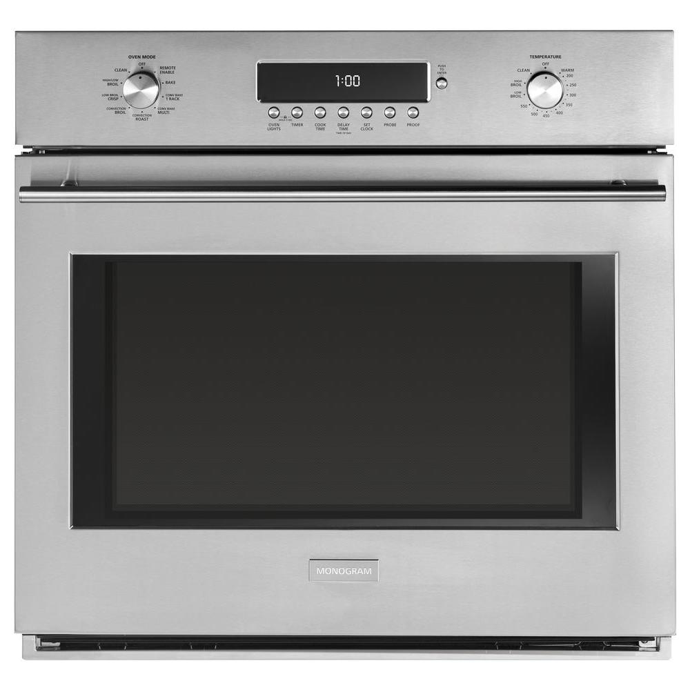 Whirlpool 30 In Electric Wall Oven With Built In