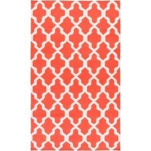 york olivia coral 5 ft x 8 ft indoor area rug