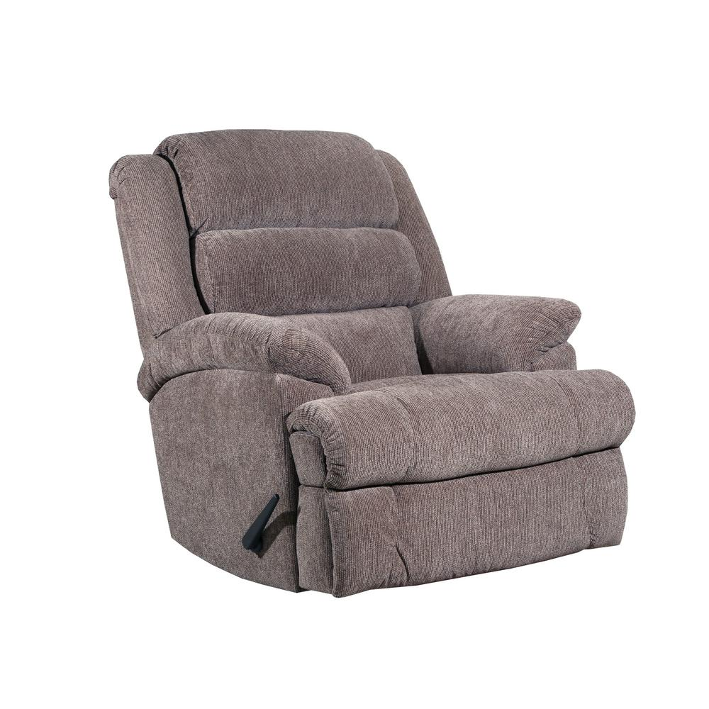 Lane Parks Cocoa Light Chocolate Comfortking Recliner