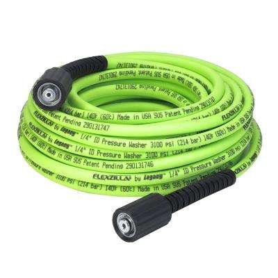 1/4 in. x 50 ft. 3100 PSI M22 Fittings No Kink Flexible Pressure Washer Hose