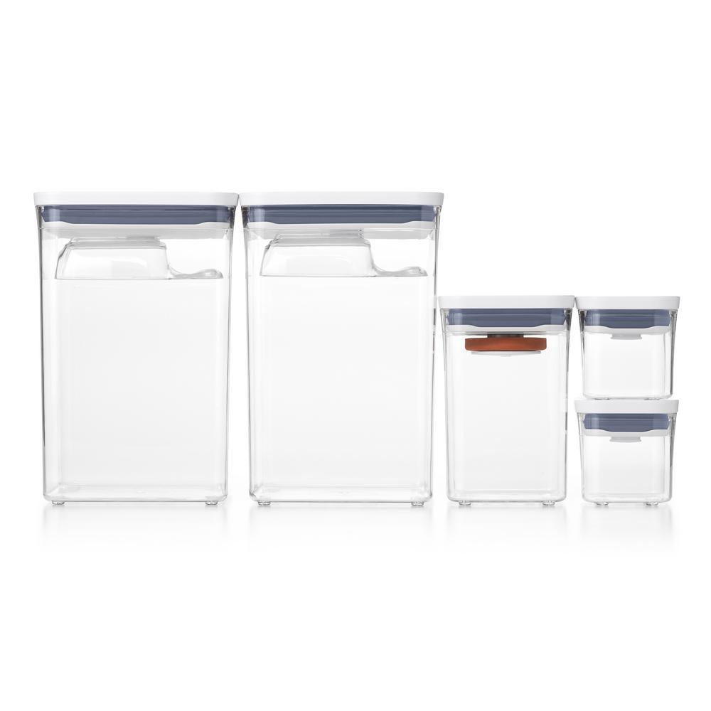 Good Grips 8-Piece Baking Essentials POP Container Set