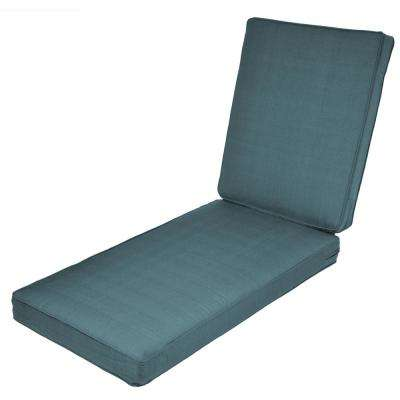 Woodbury Charleston Replacement Outdoor Chaise Lounge Cushion