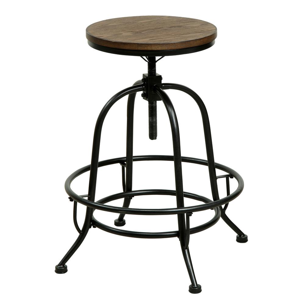 International Concepts 24 In Oak Bar Stool 1s43 682 The