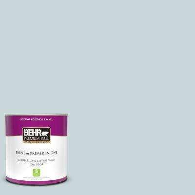 1 qt. #PPU13-16 Offshore Mist Eggshell Enamel Low Odor Interior Paint and Primer in One
