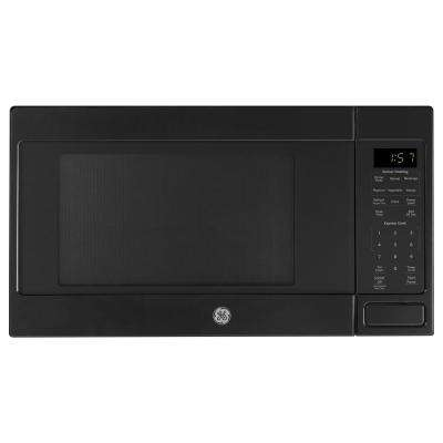 1.6 cu. ft. Countertop Microwave in Black with Sensor Cooking