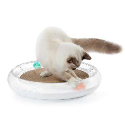 Swipe Interactive Cat Scratcher and Chaser Lounger Toy