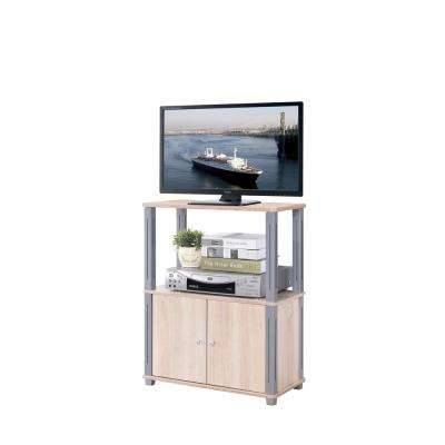 College Collection Natural and Gray TV Stand