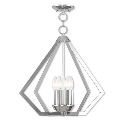 Prism 5-Light Polished Chrome Chandelier