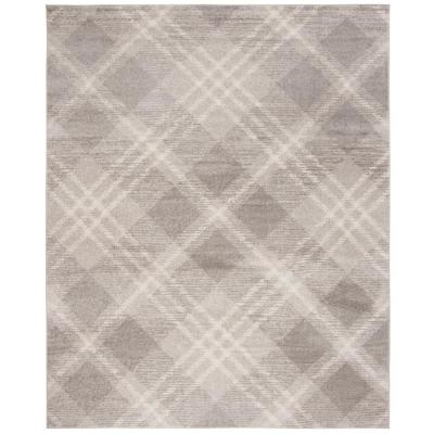 Adirondack Light Gray/Ivory 8 ft. x 10 ft. Area Rug