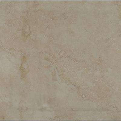 Isabella Ivory 24 in. x 24 in. Glazed Porcelain Paver Tile (7 cases / 56 sq. ft. / pallet)