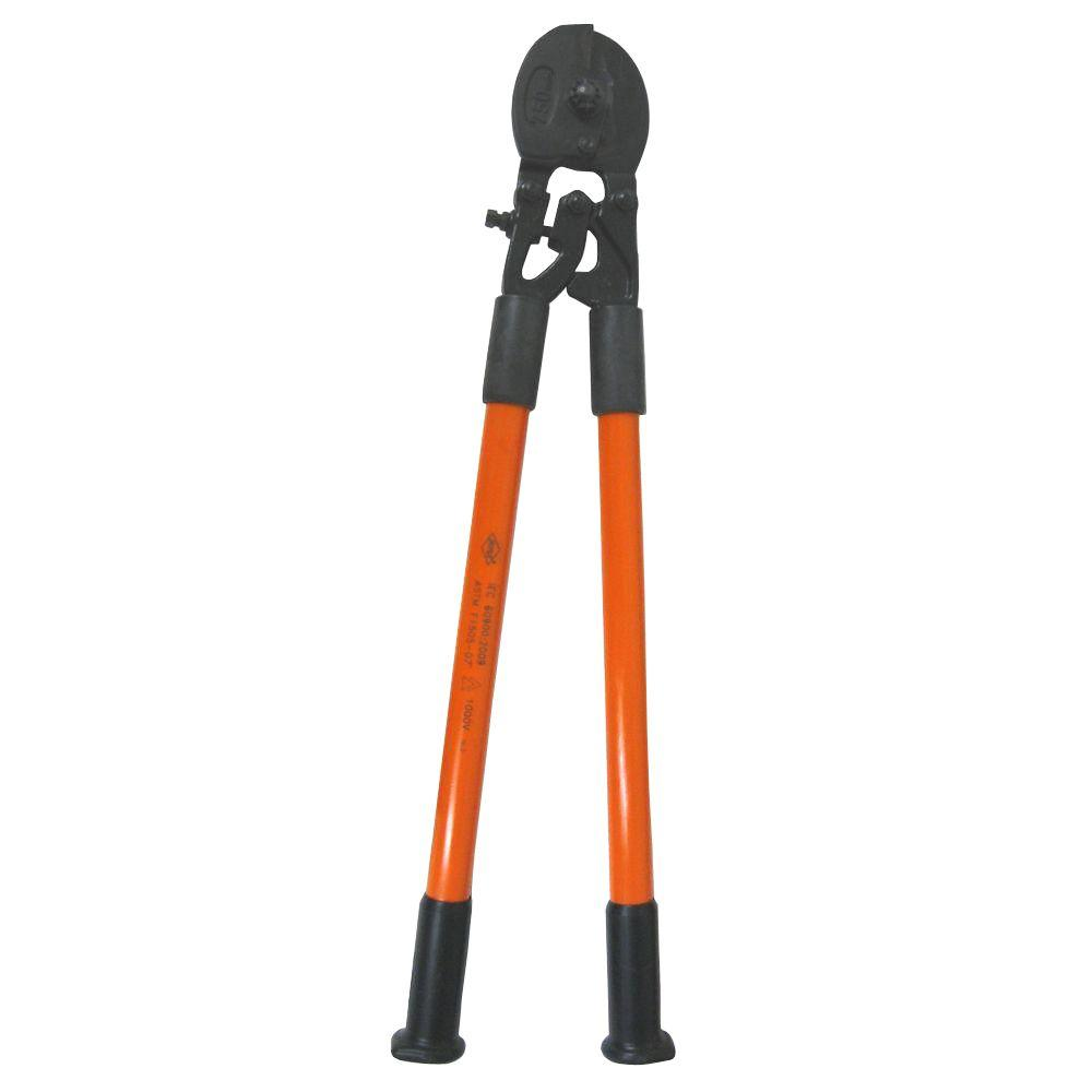 30 in. Certified Non-Conductive Wire Rope and Cable Cutter with Fiberglass