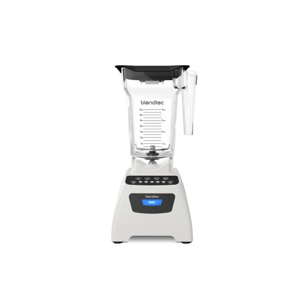 Blendtec Classic 575 32 oz. 5-Speed Polar White Blender with FourSide Blender Jar