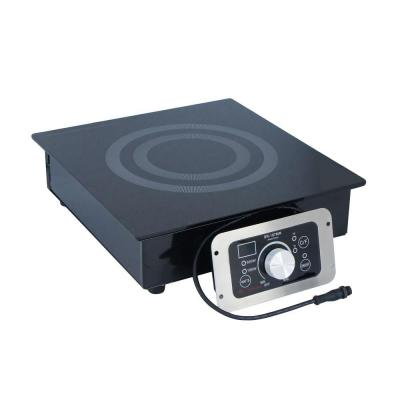 Built-In (Hold Only) Induction Cooktop Warmer in Black with 1 Element