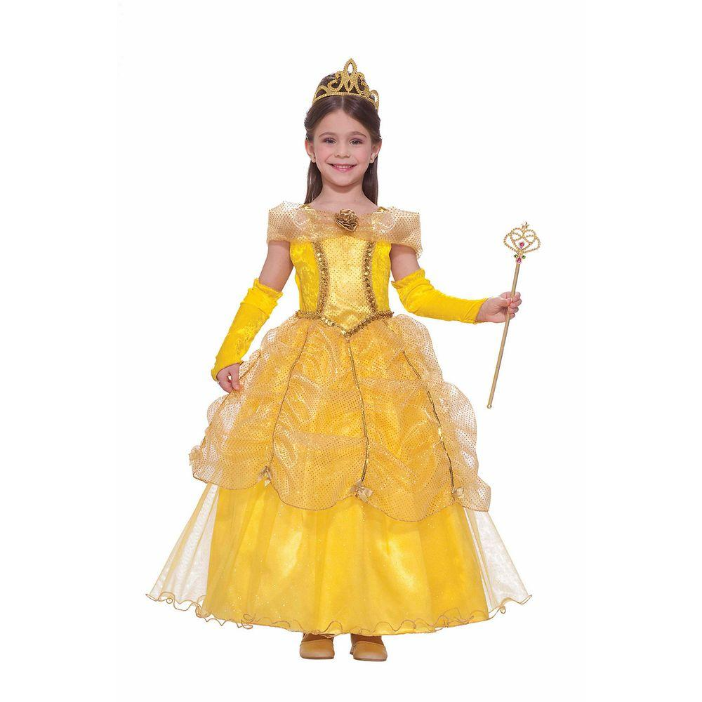 forum novelties child golden princess costume