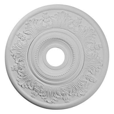 20 in. x 3-1/2 in. ID x 1-1/2 in. Vienna Urethane Ceiling Medallion (Fits Canopies upto 6-1/2 in.)