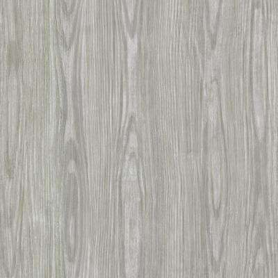 Grey Tanice Faux Wood Texture Wallpaper