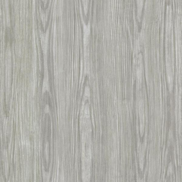 Brewster Grey Tanice Faux Wood Texture Wallpaper Hzn43055