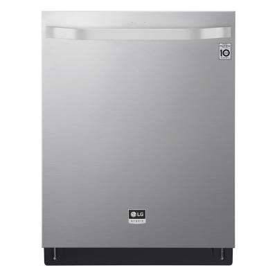 Top Control Tall Tub Smart Dishwasher with TrueSteam, QuadWash, 3rd Rack and Wi-Fi Enabled in Stainless Steel