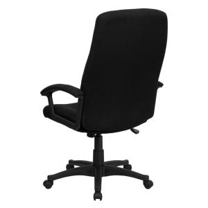 Internet #301745406. Flash Furniture High Back Black Fabric Executive  Swivel Office Chair