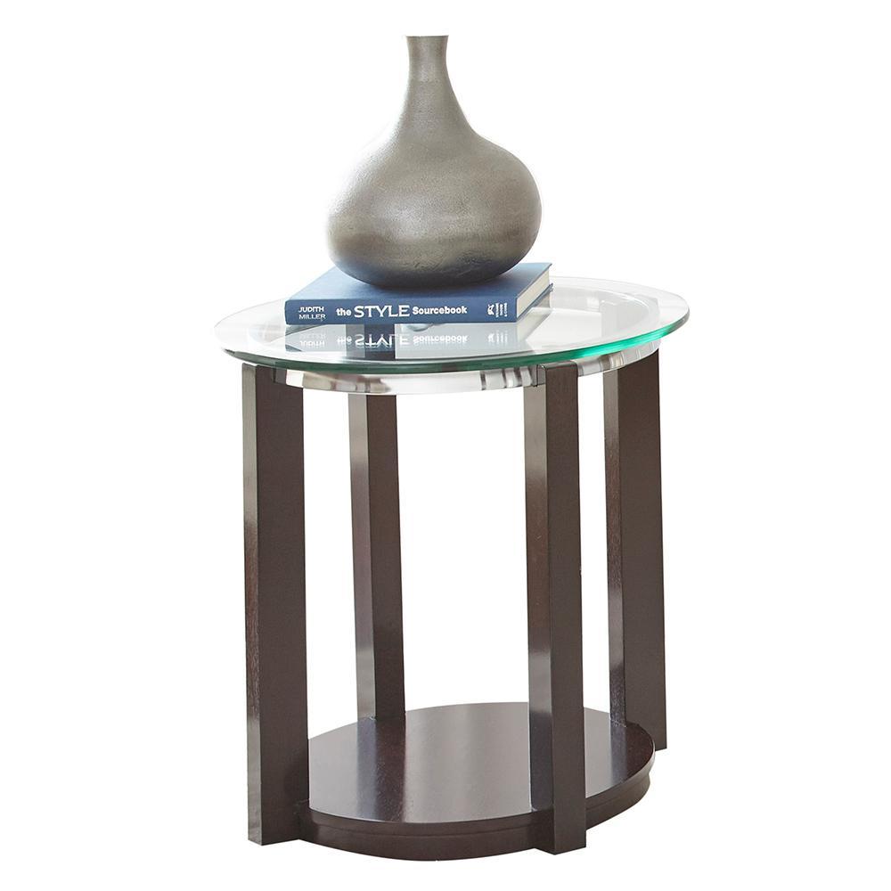 Steve Silver Company Cerchio Round End Table Cc1000e The