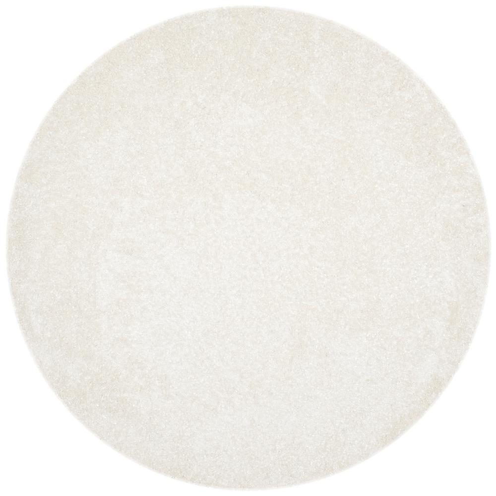 Safavieh Malibu White 7 Ft X Round Area Rug