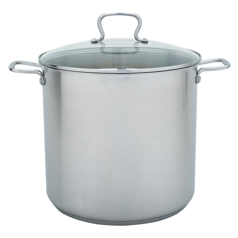Range Kleen 20 Qt Stock Pot In Stainless Steel With Lid