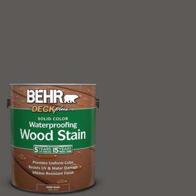 1 gal. #PPU18-19 Intellectual Solid Color Waterproofing Wood Stain